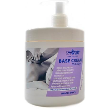 Masážna emulzia Crema Base