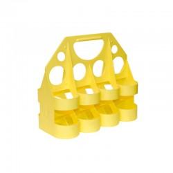 Stojan na fľaše Tempish žltý